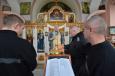 В храме при ИК-1 г. Симферополя Протоиерей Роман Цуркан провел богослужение с чтением канона святого Андрея Критского