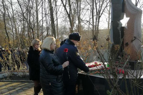 Сотрудники УИИ по Красногвардейскому району приняли участие в мероприятии посвященному памяти воину-интернационалисту